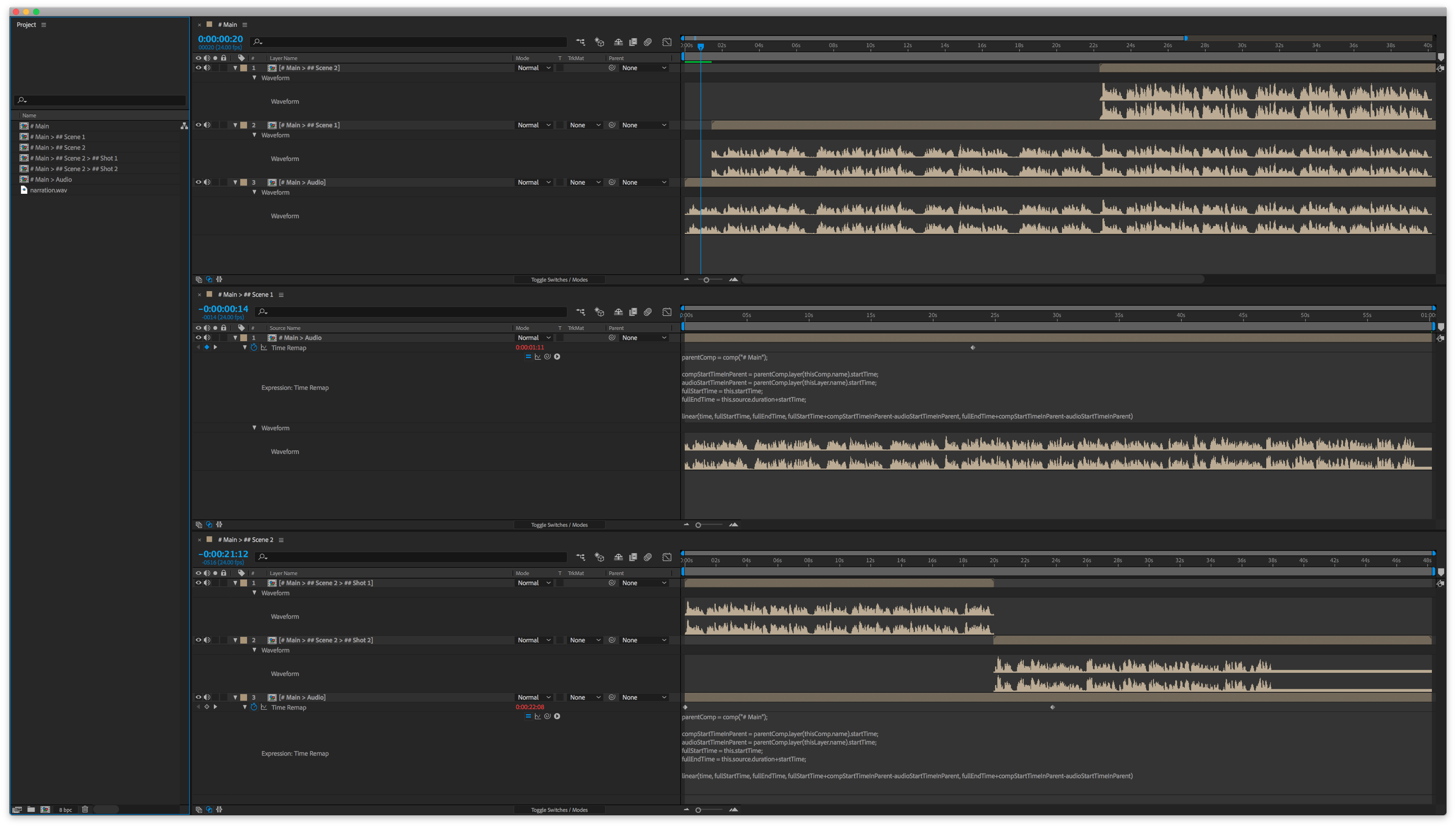 after effects how to make video smaller